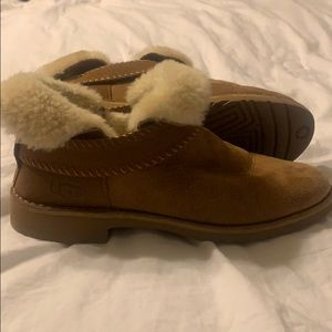 Slightly used Ugg ankle boots